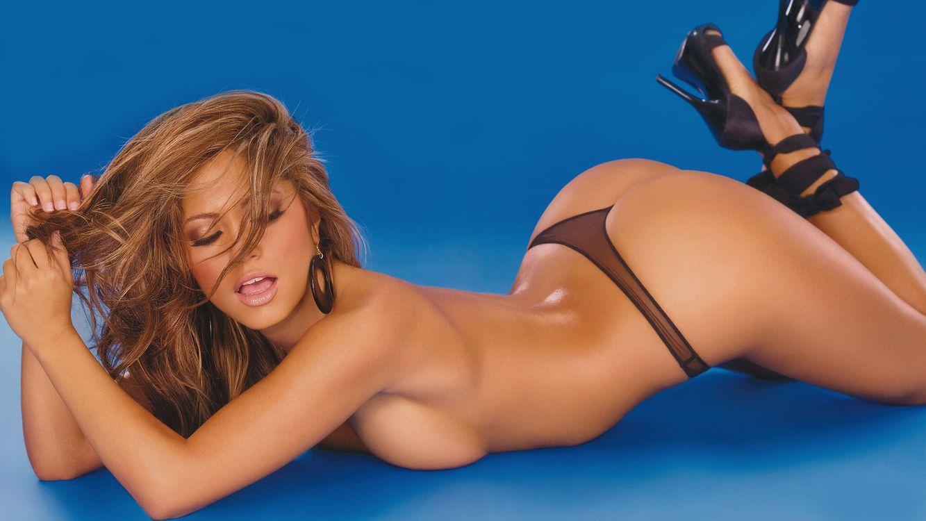Фото бесплатно Джессика Бурсиага, модель, голубая - на рабочий стол