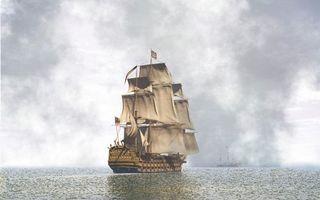 Бесплатные фото море,океан,вода,волны,паруса,флаг,разное