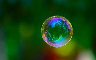 Заставки пузырь,мыльный,шар,зеркало,отражение,радуга,окрас