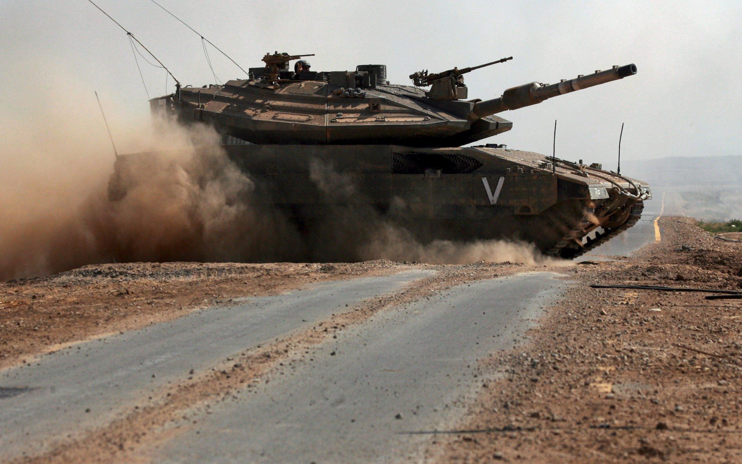 танк, скорость, дорога