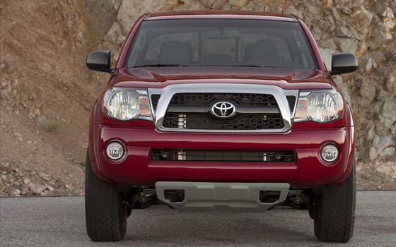 Photo free Toyota, SUV, red