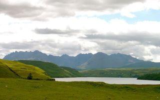 Бесплатные фото трава,горы,холм,река,озеро,вода,небо