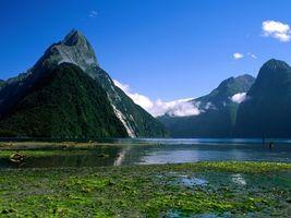 Фото бесплатно вода, горы, высокие