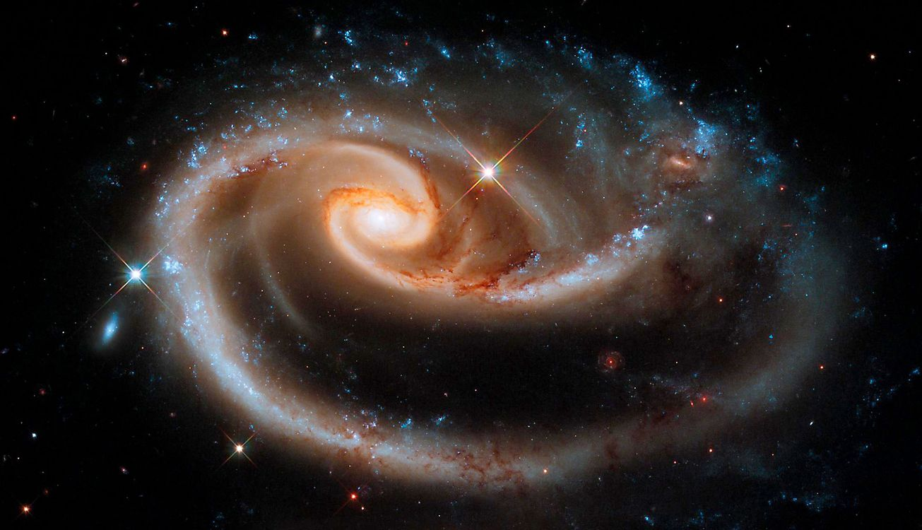 Фото бесплатно ugc 1810, arp 273, звезда, новая, звездная, система, скопление звезд, космос, космос