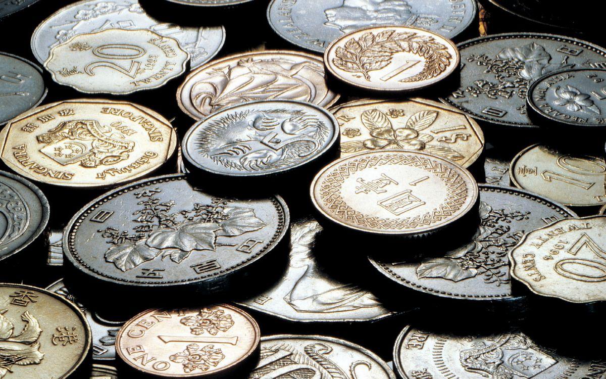 Фото бесплатно монеты, древние, центы - на рабочий стол
