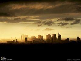 Фото бесплатно город, кран, небоскреб