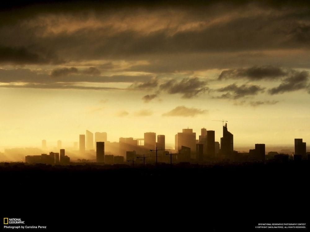 Фото бесплатно город, кран, небоскреб - на рабочий стол