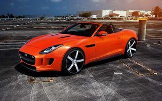 Бесплатные фото jaguar,оранжевый,тюнинг,машины