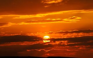 Бесплатные фото небо,красное,оранжевое,солнце,закат,лучи,тучи