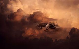 Фото бесплатно облака, дым, тучи