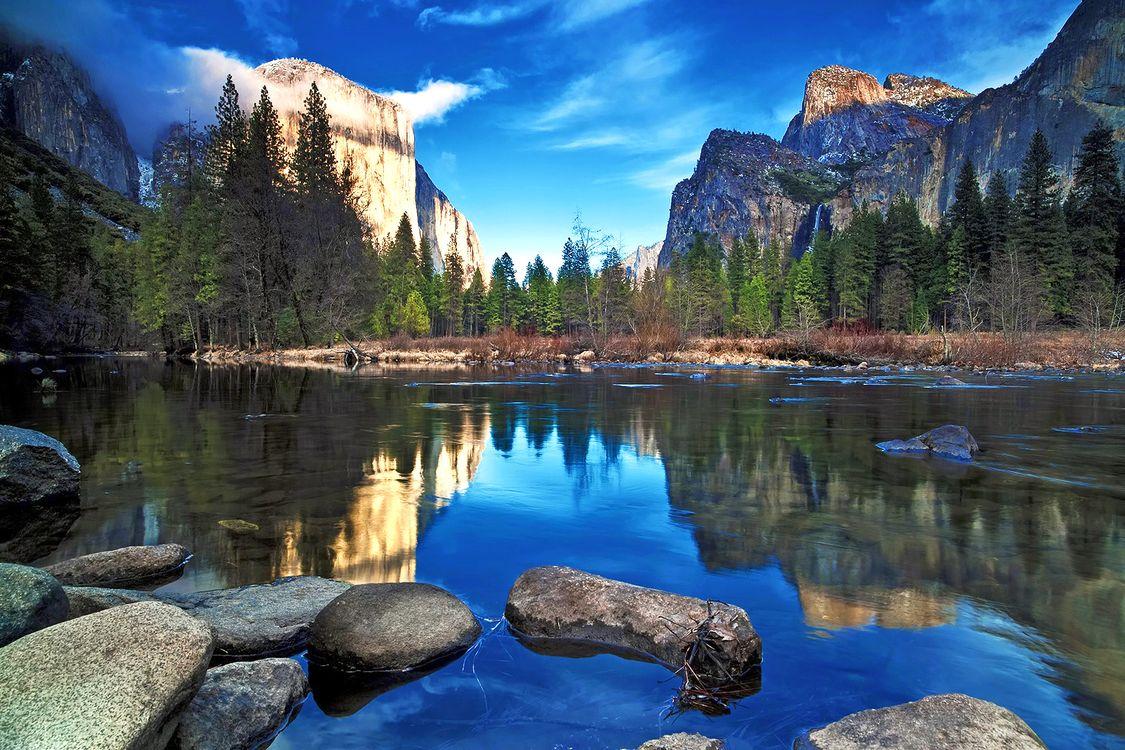 Фото бесплатно природа, горы, лес, пейзажи, пейзажи