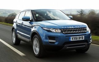 Photo free range rover, blue, speed