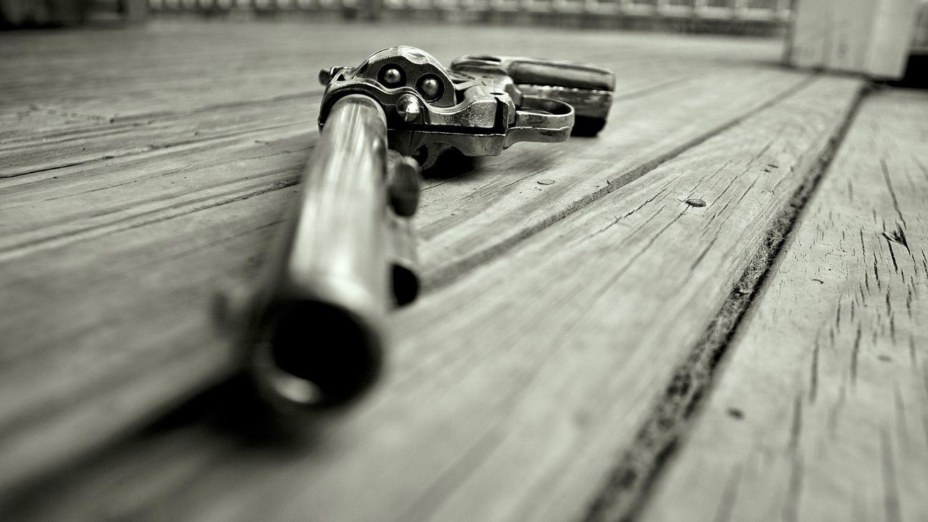 Фото бесплатно револьвер, барабан, пули - на рабочий стол