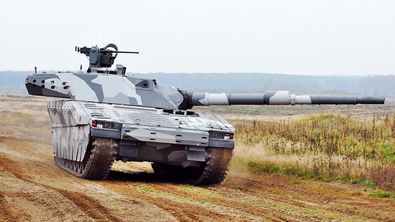 Фото бесплатно танк, серый, дуло - на рабочий стол