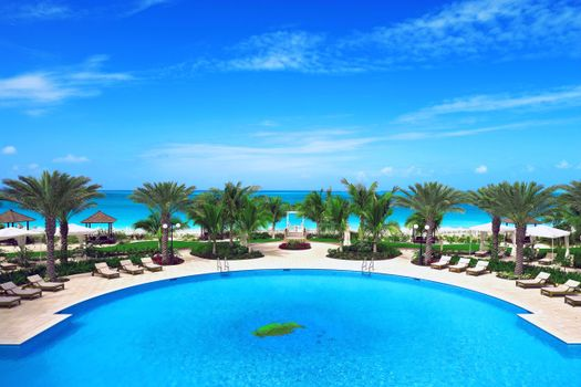 Photo free landscapes, swimming pool, resort