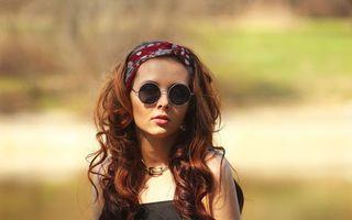 Фото бесплатно волосы, длинные, платок
