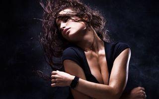 Фото бесплатно волосы, часы, рука