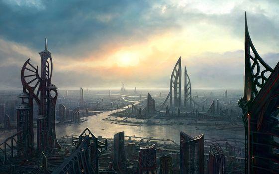 Фото бесплатно здания, дома, небоскребы
