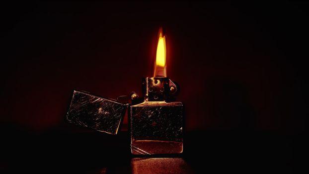 Photo free lighter, zippo, flame