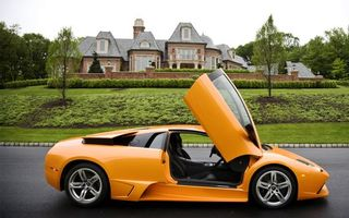 Photo free lamborghini, yellow, orange