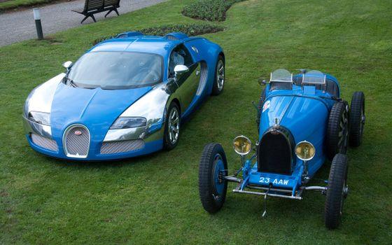 Photo free bugatti, veyron, retro