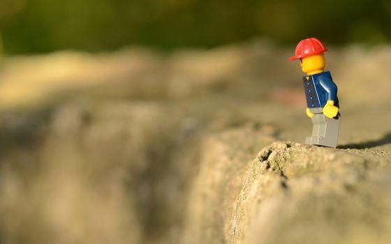 Фото бесплатно игрушка, человек, лего