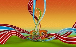Бесплатные фото линии,буквы,волны,цвета,радуга,картинка,обои