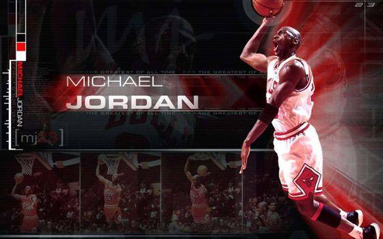 Photo free Michael Jordan, basketball player, legend