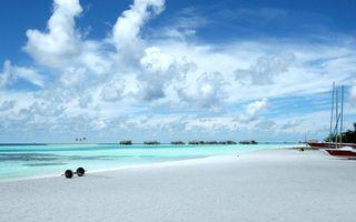 Фото бесплатно пляж, небо, море