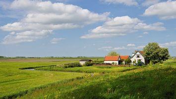 Фото бесплатно синий, природа, дом