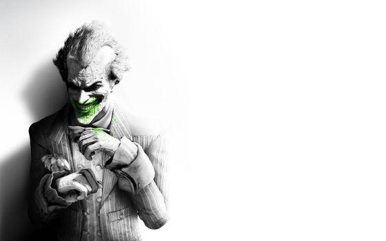 Бесплатные фото batman,arkham city,джокер,улыбка