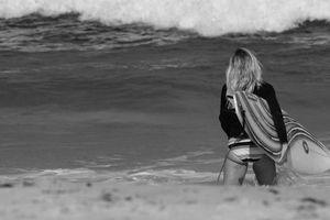 Фото бесплатно девушка, купальник, море