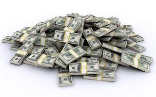 Бесплатные фото доллары,банкноты,упаковки,куча,денег,белый,фон