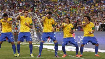 Фото бесплатно футбол, бразилия, поле