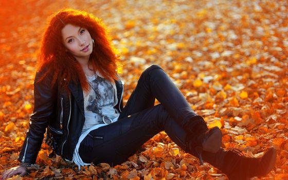 Бесплатные фото sunset,cute,female,nature,девушки