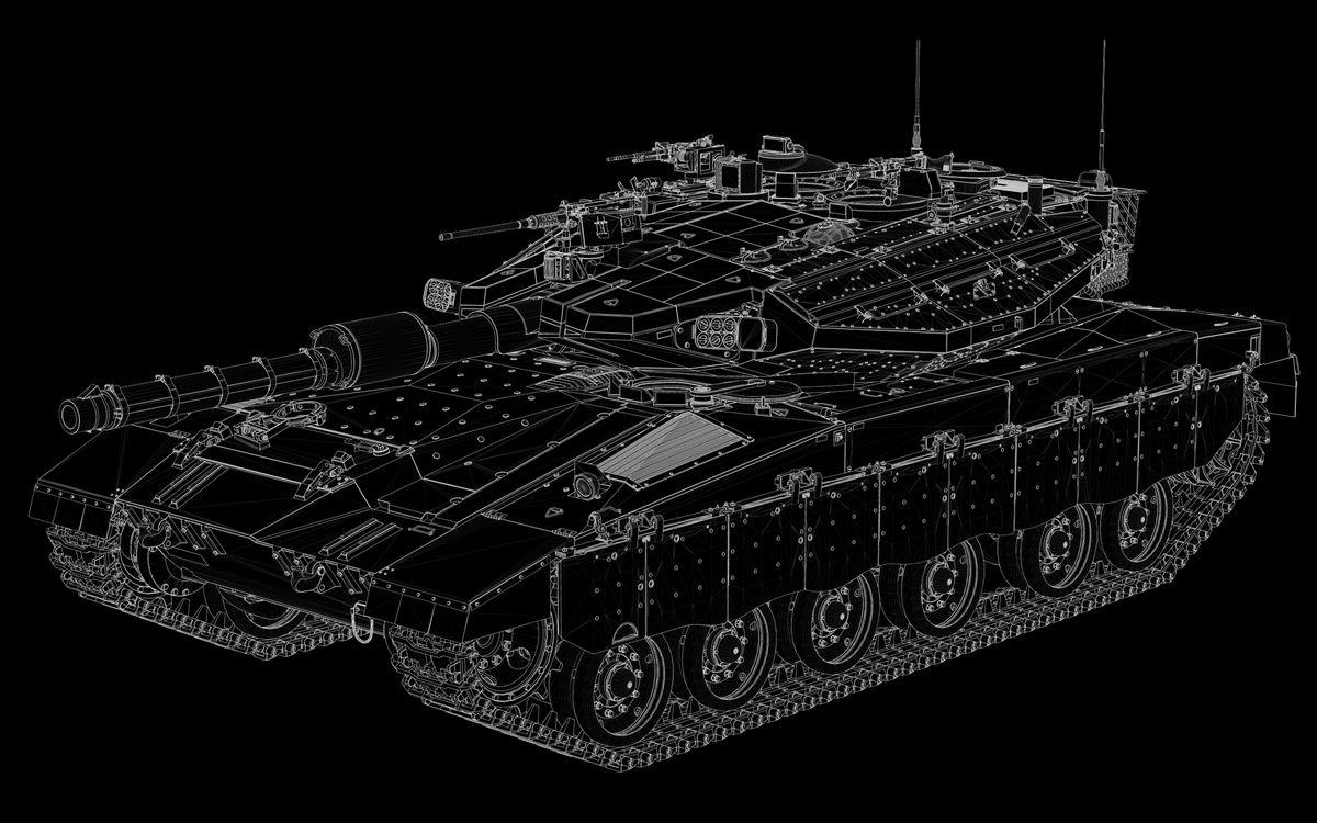 Фото бесплатно танк, броня, пушка, пулемет, гусеницы, очертания, оружие, оружие
