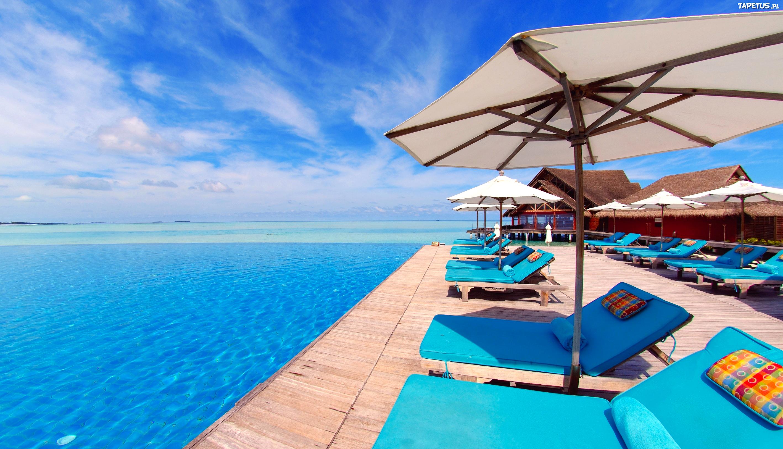 Мальдивы номера отеля отдых The Maldives the rooms the rest  № 334015 бесплатно