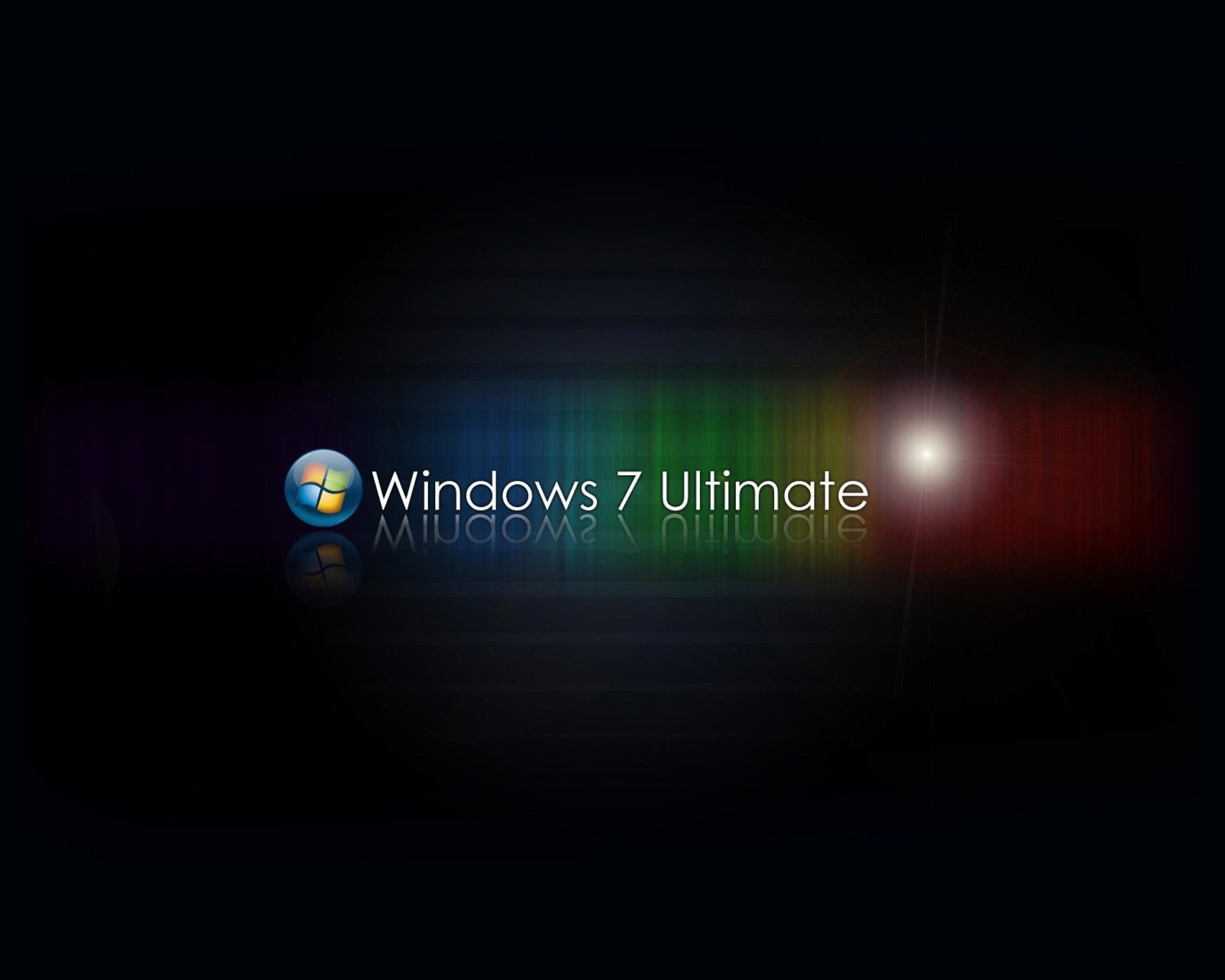 windows 7, ultimate, заставка
