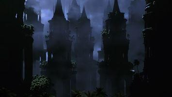 Бесплатные фото здания,старинные,красивые,жуткие,необычные,темно,город
