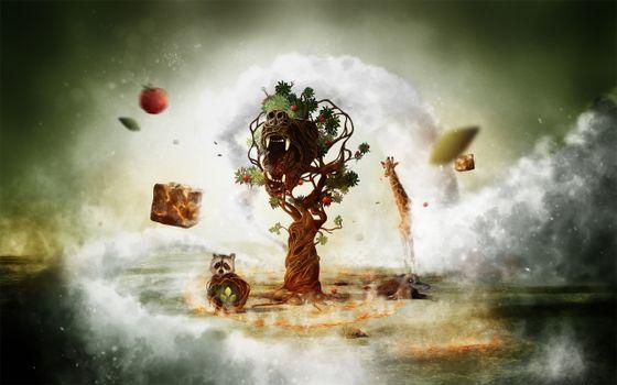 Photo free totem, fantasy, desktop