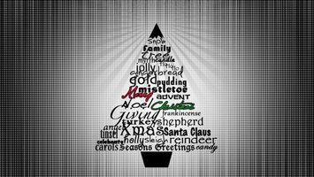 Бесплатные фото слова,новый год,праздник,елка,ель,new year,holiday