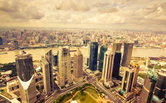 Бесплатные фото view,city,фото,вид,город,skyscrapers,panorama,мегаполис,overlooking