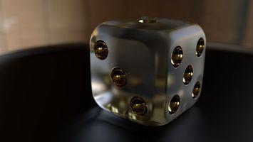 Фото бесплатно 3d, cube, dice