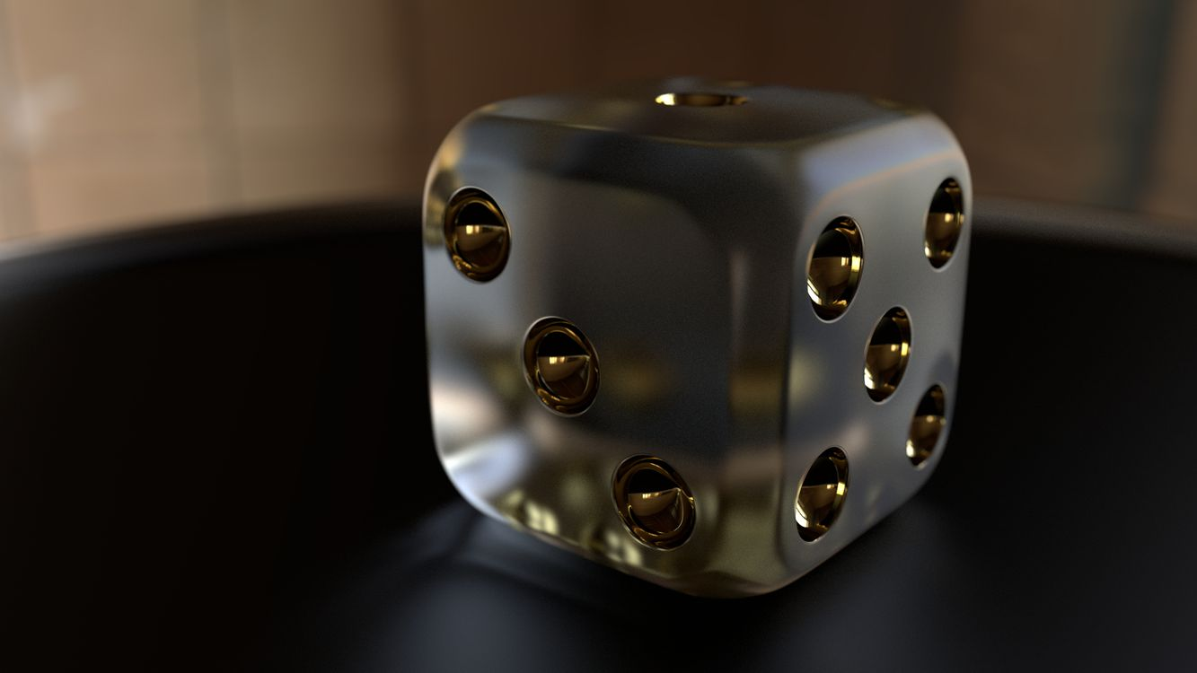 Фото бесплатно 3d, cube, dice - на рабочий стол