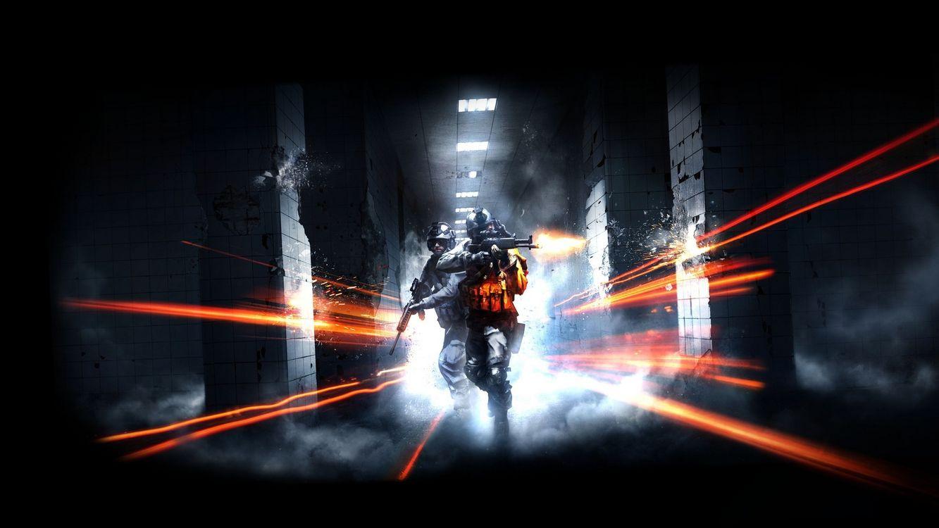 Фото бесплатно battlefield, коридор, тоннель - на рабочий стол
