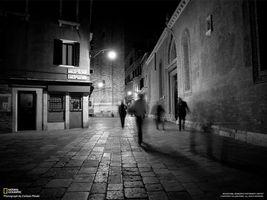 Фото бесплатно улица, черный, белый