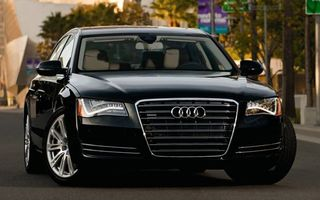 Photo free audi, black, grille