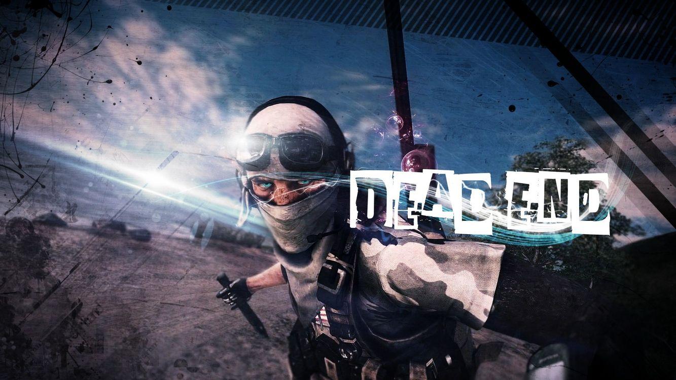 Фото бесплатно dead, end, тупик, человек, нож, пустыня, солдат, игры, игры