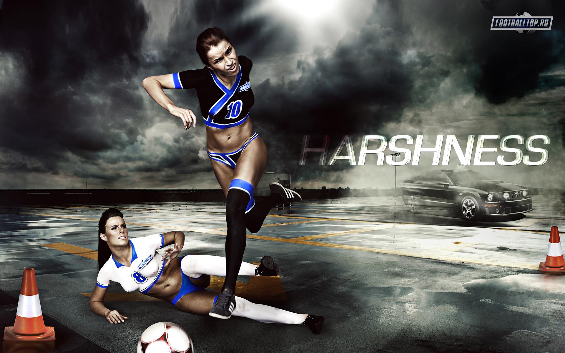 девушка спорт футбол скачать