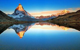 Бесплатные фото горы,озеро,отражение,пейзажи